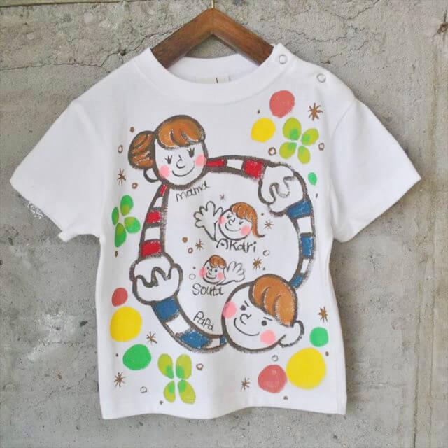 「手書きTシャツ」を通販でお求めなら、ぜひ当店へ! プレゼントに適した「手書きTシャツ」のイメージ画像