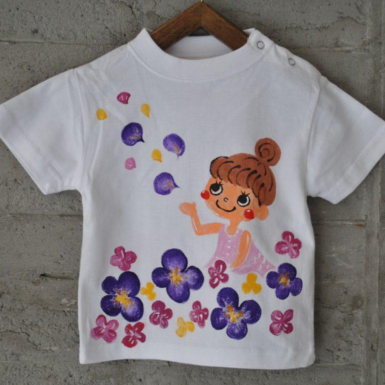 神戸市で子供服をお求めなら【KOBE Motomachi SESSIONS】~出産祝いのプレゼントに手描きTシャツ~